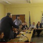 kozan.gr: Η ερμηνεία των λεγομένων του δημάρχου Κοζάνης, για το θέμα της ΔΕΗ, από τον Εκτελεστικό Γραμματέα της Περιφέρειας, Π. Αργυριάδη, στη συνεδρίαση του συντονιστικού οργάνου, ενόχλησε τον Λευτέρη Ιωαννίδη, ο οποίος σηκώθηκε κι αποχώρησε, προς στιγμήν, από το τραπέζι του διαλόγου (Βίντεο)