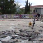 Ξεκίνησαν  οι εργασίες στεγανοποίησης, υδρομόνωσης και θερμομόνωσης της στέγης της Αίθουσας Τέχνης Κοζάνης  (Βίντεο)