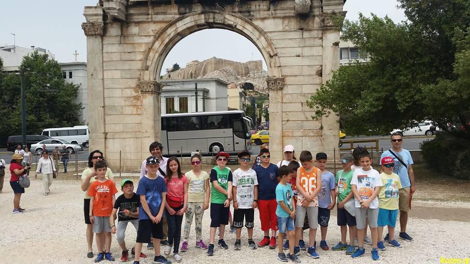 Εκπαιδευτική εκδρομή των μαθητών της Ε΄ και ΣΤ΄  τάξης του 3ου Δημοτικού Σχολείου Σιάτιστας στην Αθήνα