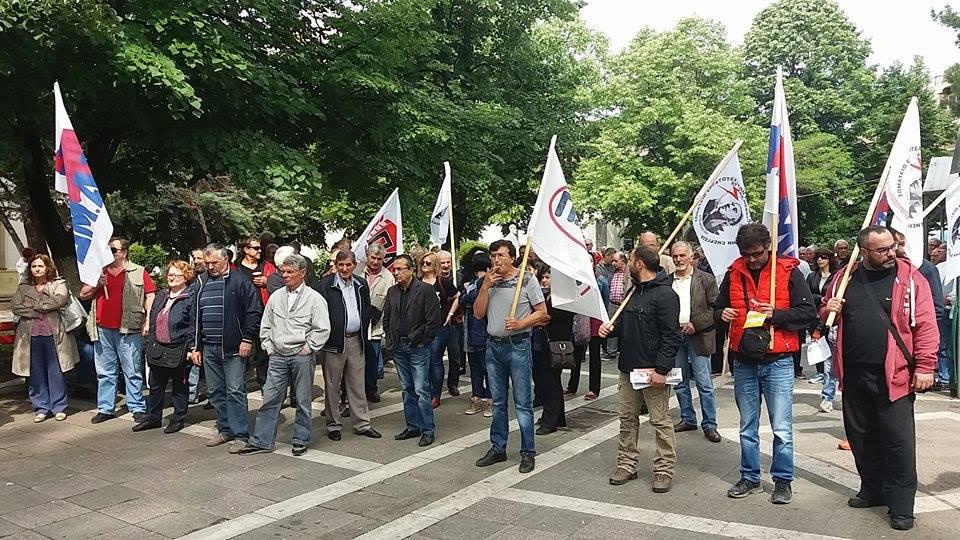 kozan.gr: Η απεργιακή συγκέντρωση του Π.Α.ΜΕ. στην Πτολεμαΐδα (Βίντεο-Φωτογραφίες)