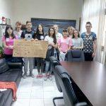 Τα λιμνοπούλια του Γυμνασίου Κρόκου-Άνω Κώμης στο Δημαρχείο Σερβίων – Βελβεντού