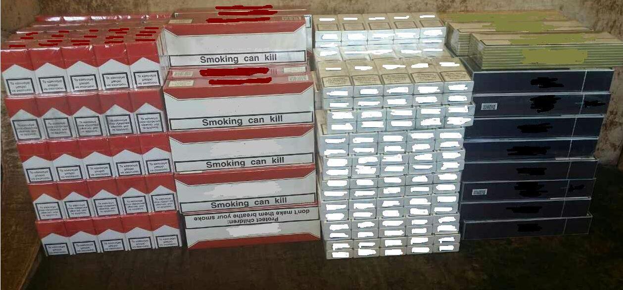 Συνελήφθη 41χρονος στην Πτολεμαΐδα γιατί κατείχε  1.000  πακέτα αδασμολόγητων τσιγάρων (Φωτογραφία)