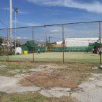 Εργασίες καθαρισμού και αποκατάστασης στον περιβάλλοντα χώρο των γηπέδων τένις,  στο ΔΑΚ Κοζάνης