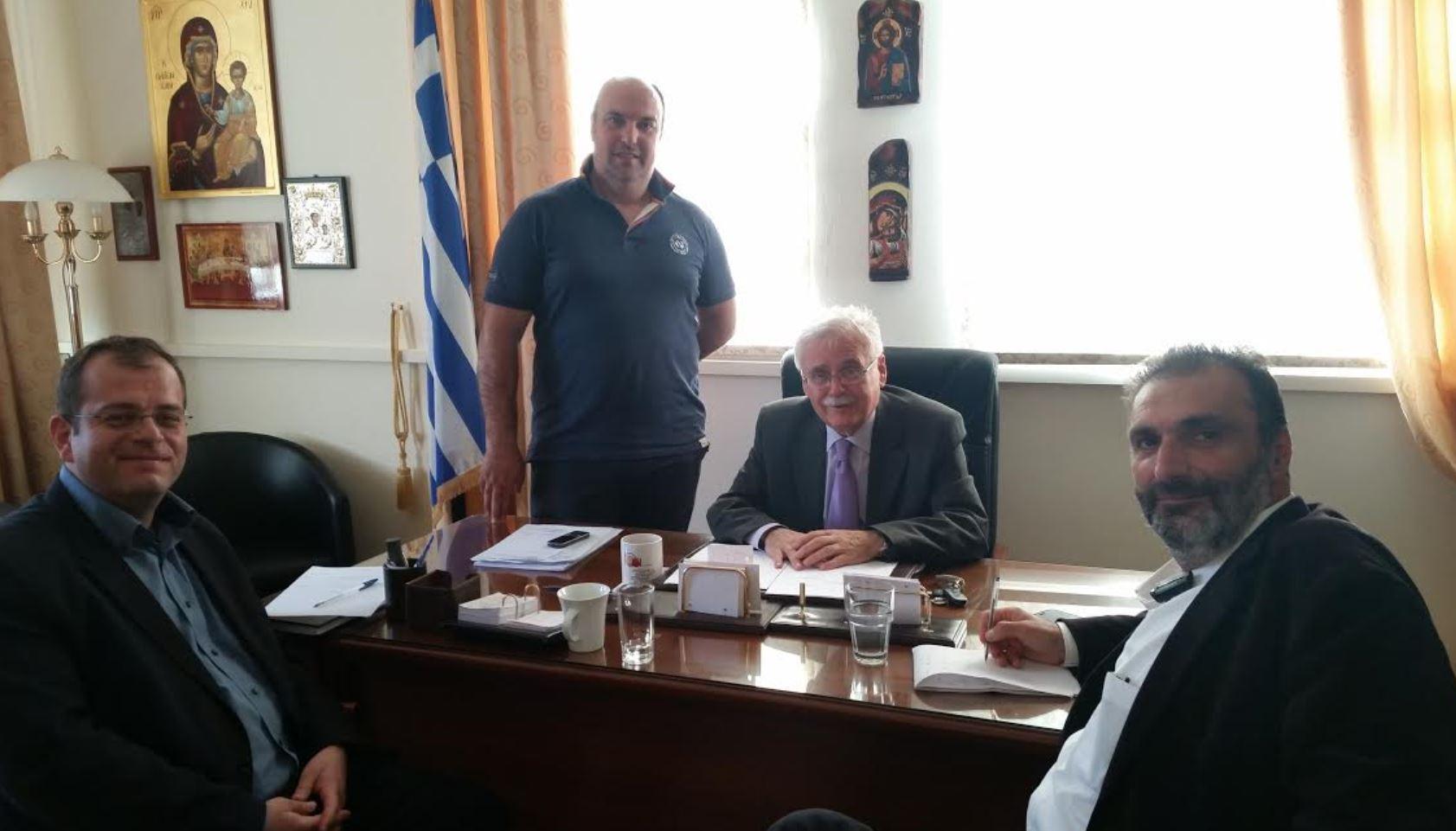 Συνάντηση αντιπροσωπείας του ΣΥΡΙΖΑ ΠΕ Κοζάνης με το Δήμαρχο Βοϊου