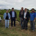 Στις πληγείσες από το χαλάζι περιοχές του Δήμου Αμυνταίου βρέθηκε ο Βουλευτής Φλώρινας Κ. Σέλτσας