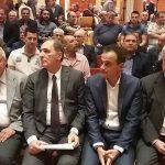 kozan.gr: Aφίχθη, στην Πτολεμαίδα, για το συνέδριο της ΓΕΝΟΠ/ΔΕΗ, εν μέσω χλιαρών, σε ένταση, συνθημάτων, ο Υπουργός Ενέργειας Γιώργος Στάθακης – Φωτογραφίες από την έναρξη των εργασιών του συνεδρίου  (Βίντεο & Φωτογραφίες)