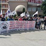 kozan.gr: Παράσταση διαμαρτυρίας του ΣΕΕΕΝ, αυτή την ώρα, λίγο πριν την έναρξη του 38ου Συνεδρίου της ΓΕΝΟΠ που πραγματοποιείται στην Πτολεμαΐδα (Φωτογραφίες & Βίντεο)