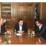 Η συμφωνία για τη ΔΕΗ στο επίκεντρο της συνάντησης του Αλ. Τσίπρα με τον Θ. Καρυπίδη – O Πρωθυπουργός δεσμεύτηκε πως το 1ο Συνέδριο για την Παραγωγική Ανασυγκρότηση, θα λάβει χώρα στη Δυτική Μακεδονία