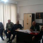 Συνάντηση του Γραμματέα του ΣΥ.ΡΙΖ.Α. Π. Ρήγα, με τα μέλη της διοίκησης του  Σωματείου Συνταξιούχων ΔΕΗ