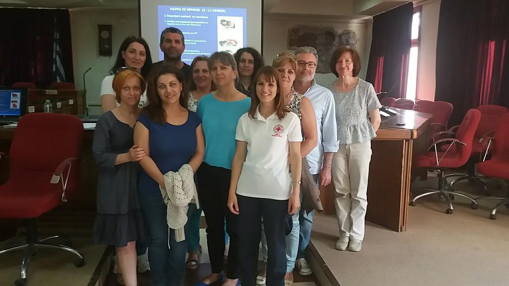 Ολοκληρώθηκαν με επιτυχία τα Σεμινάρια Πρώτων Βοηθειών, που διοργάνωσε ο Δήμος Εορδαίας, το διάστημα 8-20 Ιουνίου (Φωτογραφίες)