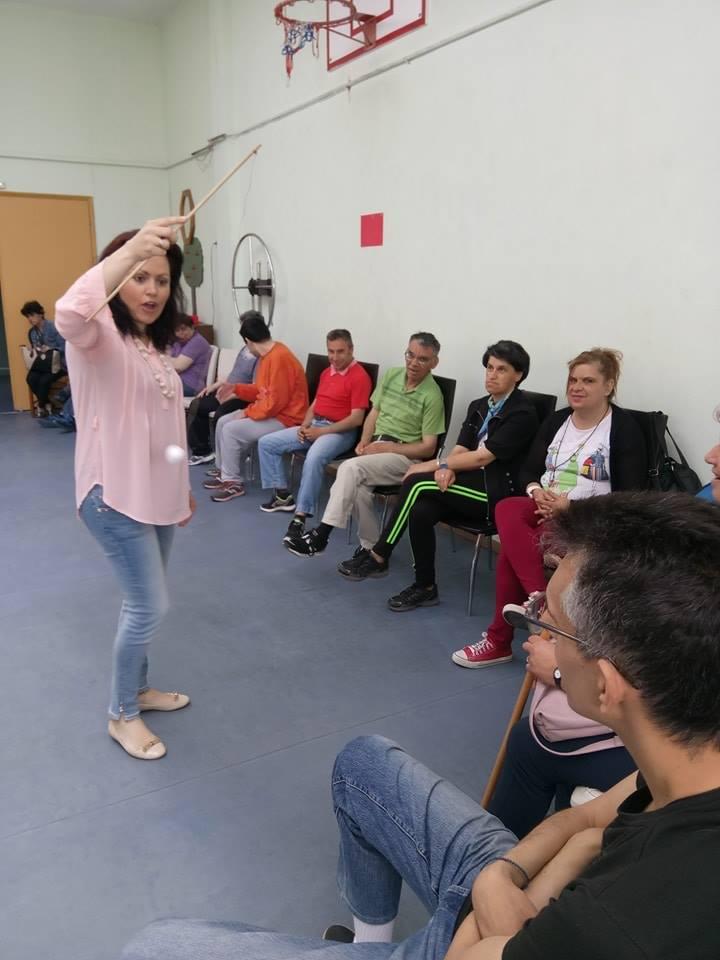 Βιωματικό εργαστήρι στα πλαίσια του προγράμματος ψυχαγωγίας και πολιτισμού