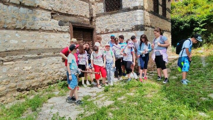 Επίσκεψη μαθητών της Αστικής Σχολής «Δημητρίου Ιωαννίδη, Σιατιστέως» Θεσσαλονίκης,  στη Σιάτιστα