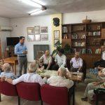 Ενημέρωση – ομιλία, με θέμα την όραση, σε ηλικιωμένους από τον Οπτομέτρη-Οπτικό, Χάρη Κάτανα