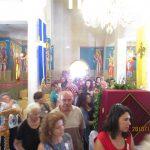 Με καλλίφωνες μελωδίες και πλήθος λαού η πανήγυρη του ι. Εξωκλησιού  της Οσίας Ειρήνης Χρυσοβαλάντου στο Βαθύλακκο (του παπαδάσκαλου Κωνσταντίνου Ι. Κώστα)