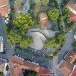 Η νέα πλατεία της Αιανής με λήψη από drone (Φωτογραφίες)