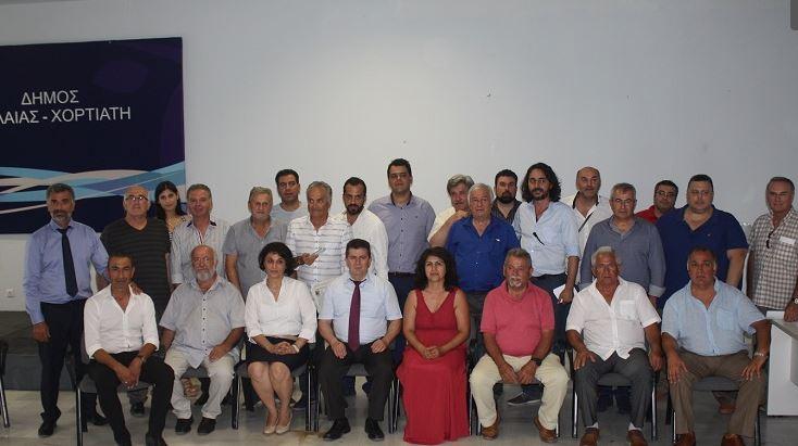 Το νέο Διοικητικό Συμβούλιο της Διεθνούς Συνομοσπονδίας Ποντίων Ελλήνων (ΔΙΣΥΠΕ) ο Γιώργος Χριστοφορίδης