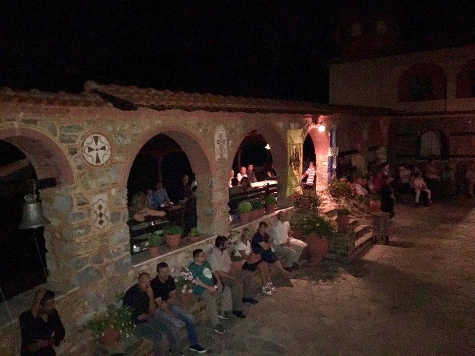 kozan.gr: Φωτογραφίες (από την αγρυπνία) και βίντεο (από τον Εσπερινό) στην Ιερά Μονή Μεταμορφώσεως του Σωτήρος στο Δρυόβουνο