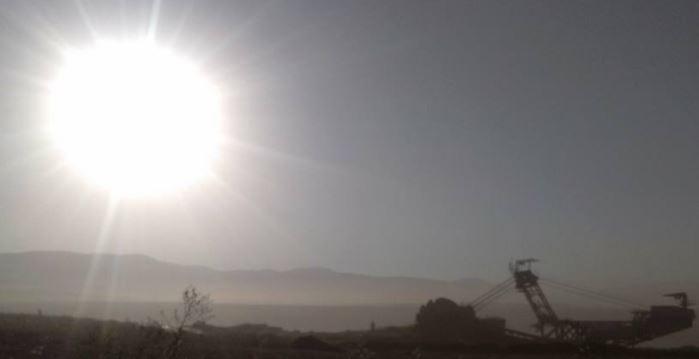 Ο ήλιος από το ορυχείο Μαυροπηγής κι ο ήλιος από την Κορυφή Βοΐου