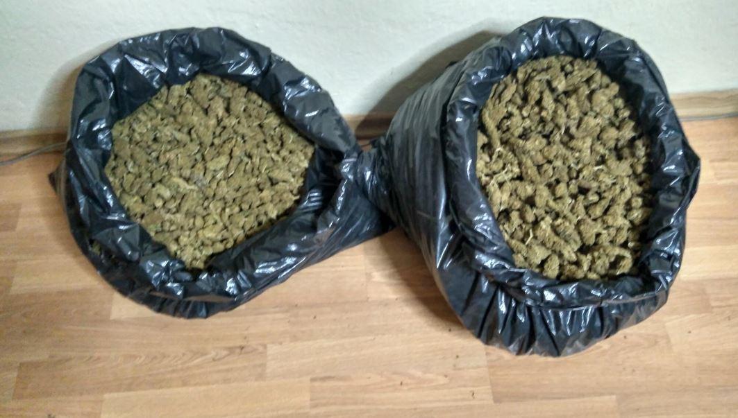 Συνελήφθησαν δύο άτομα σε περιοχή της Καστοριάς για διακίνηση ποσότητας ακατέργαστης κάνναβης 9 κιλών και 500  γραμμαρίων   (Φωτογραφία)
