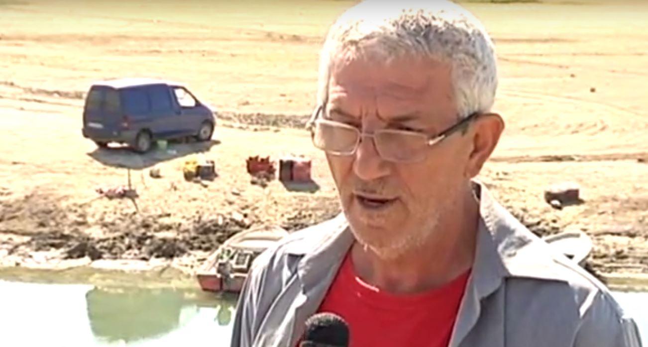 Οι επαγγελματίες ψαράδες μιλούν για τη χαμηλή στάθμη της λίμνης Πολυφύτου (Βίντεο)