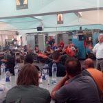 Περιοδεία του Βουλευτή του ΚΚΕ Βαρδαλή Σάκη σε χώρους εργασίας της ΔΕΗ Α.Ε και στο Μποδοσάκειο Νοσοκομείο Πτολεμαΐδας