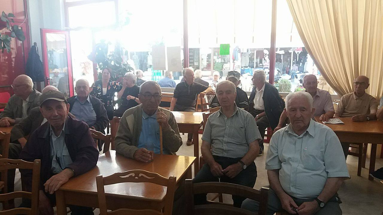 kozan.gr: Α ΄ΚΑΠΗ Πτολεμαΐδας:  Ενημερώθηκαν για την ελονοσία και για τα μέτρα προστασίας από κουνούπια (Φωτογραφίες & Bίντεο)