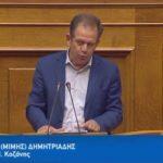 Τοποθέτηση στην ολομέλεια του Μίμη Δημητριάδη, στην συζήτηση για τον προϋπολογισμό 2018