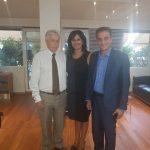 Σημαντικές επαφές στην Αθήνα για την εντεταλμένη σύμβουλο Μαρία Καρυπίδου (Φωτογραφίες)