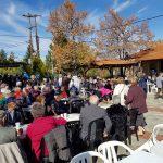 kozan.gr: Πλήθος κόσμου στην καθιερωμένη Καστανογιορτή στη Δαμασκηνιά Βοίου  (Φωτογραφίες & Βίντεο)