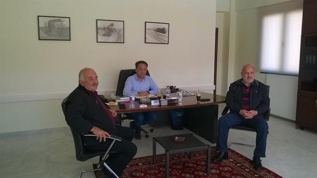Σύσκεψη για τους Αναργύρους πραγματοποιήθηκε, στο Γραφείο του Αντιπεριφερειάρχη Ενέργειας – Περιβάλλοντος & Μεταφορών Κ.Γέρου