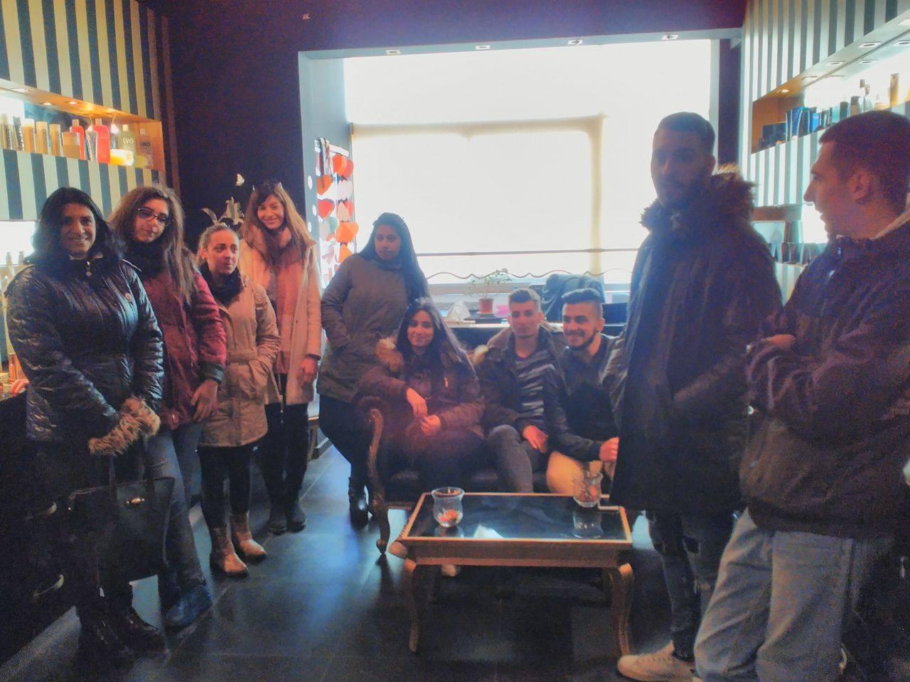 Eκπαιδευτική επίσκεψη των μαθητών της Α' τάξης Κομμωτικής Τέχνης ΟΑΕΔ ΕΠΑ.Σ Κοζάνης (Φωτογραφίες)