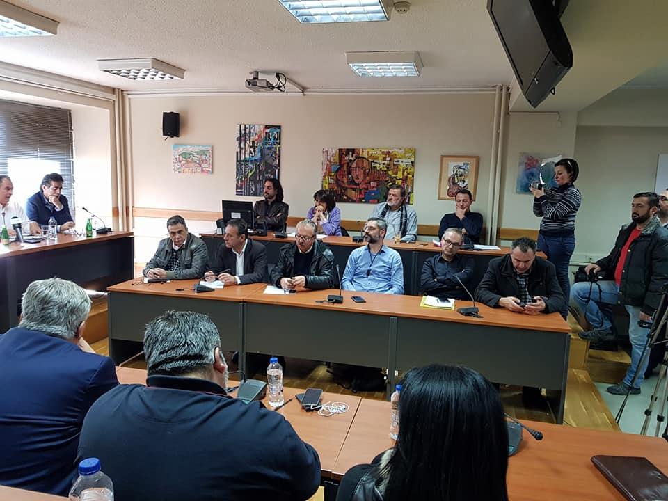 Μερικές από τις τοποθετήσεις στη σημερινή σύσκεψη του συντονιστικού οργάνου στη Φλώρινα για τις εξελίξεις με την ΔΕΗ (Βίντεο)