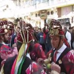 Tο  λαϊκό δρώμενο των Μωμόγερων, του Αγίου Δημητρίου Κοζάνης, στα Γρεβενά, το Σάββατο 30 Δεκεμβρίου