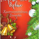 Χριστουγεννιάτικη Συναυλία του Δημοτικού Ωδείου Σερβίων, το Σάββατο 16 Δεκεμβρίου