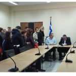 Τελετή ορκωμοσίας 21 ατόμων που απέκτησαν την ελληνική ιθαγένεια με πολιτογράφηση, πραγματοποιήθηκε σήμερα 05/12, στην αίθουσα «Μέγας Αλέξανδρος» της Αποκεντρωμένης Διοίκησης Ηπείρου-Δυτικής Μακεδονίας, στην Κοζάνη
