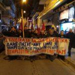 Φωτογραφίες και βίντεο από την πορεία των ταξικών δυνάμεων στην Κοζάνη, μετά την κατάληψη στο Εργατικό Κέντρο Κοζάνης. Ομιλία του Ν. Στολτίδη, μέλος ΔΣ ΕΚ Κοζάνης (Bίντεο)
