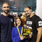 Τρία μετάλλια ήταν η συγκομιδή της Αγωνιστικής Ομάδας της Κολυμβητικής Ένωσης Κοζάνης στα Αρήστεια 2018