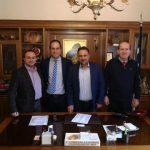 Σειρά συναντήσεων του Προέδρου του Επιμελητηρίου Κοζάνης  Νικολάου Σαρρή και των μελών της νέας Διοικητικής Επιτροπής