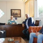 Επίσκεψη διοίκησης Ε.Β.Ε. στον πρύτανη του ΤΕΙ Δυτ. Μακεδονίας