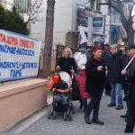 Κινητοποίηση του ΠΑΜΕ Κοζάνης ενάντια σε πλειστηριασμούς και κατασχέσεις (Φωτογραφίες)