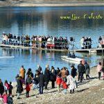 Ο Καθαγιασμός των Υδάτων, στην λίμνη Πολυφύτου, από τον Σεβασμιότατο Μητροπολίτη Σερβίων & Κοζάνης κ.κ. Παύλο (Φωτογραφίες)