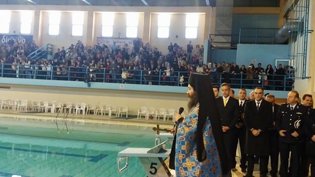 kozan.gr: Ο αγιασμός των υδάτων και η ρίψη του Τιμίου Σταυρού στο Δημοτικό Κολυμβητήριο Πτολεμαΐδας (Bίντεο & Φωτογραφίες)