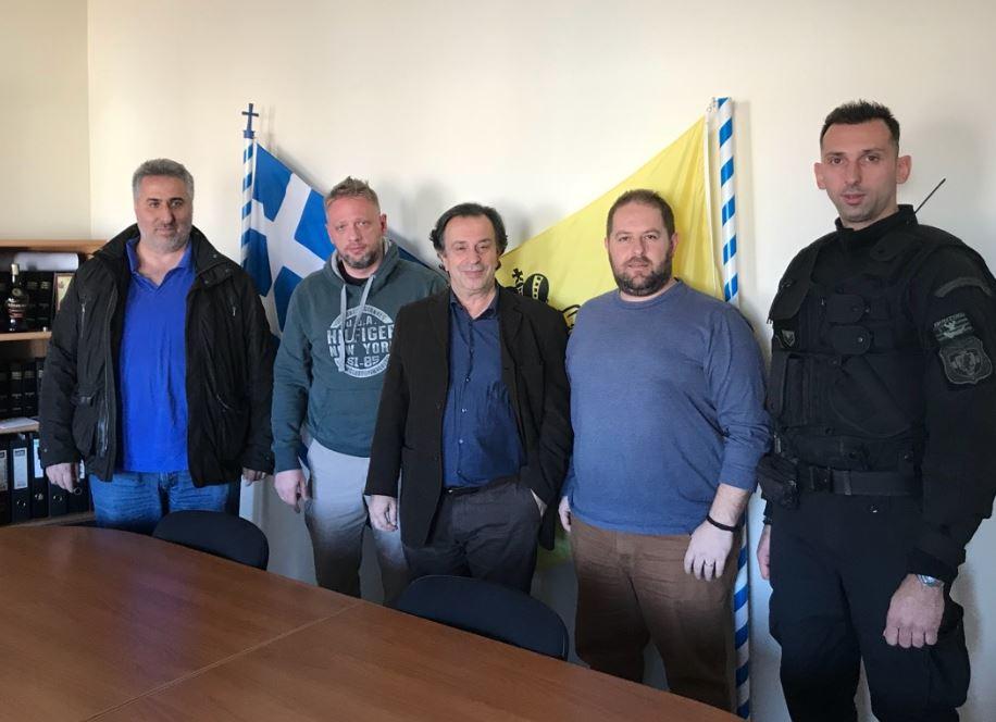 Ένωση Αστυνομικών Υπαλλήλων Κοζάνης: Συνάντηση του με τον Βουλευτή του ΣΥΡΙΖΑ της Π.Ε. Κοζάνης Θεμιστοκλή ΜΟΥΜΟΥΛΙΔΗ