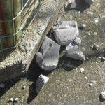 kozan.gr: Πέτρες στην κερκίδα 3 του ΔΑΚ Κοζάνης (Φωτογραφίες)