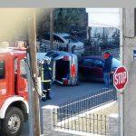kozan.gr: Τροχαίο ατύχημα, με ανατροπή Ι.Χ αυτοκινήτου, στην περιοχή Πλατάνια στην Κοζάνη (Φωτογραφία)