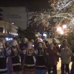 Το έθιμο του φανού παρουσίασε, στις Σέρρες, ο πολιτιστικός σύλλογος Αγίου Αθανασίου Κοζάνης (Βίντεο)