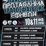 10 και 11 Φεβρουαρίου το Πανελλήνιο Πρωτάθλημα Υδατοσφαίρισης Εφήβων στην Πτολεμαΐδα