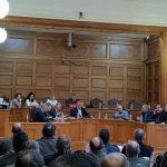 Ο Βουλευτής ΣΥΡΙΖΑ Κοζάνης, Ντζιμάνης Γεώργιος Ειδικός Αγορητής στην Συνεδρίαση της Επιτροπής της Διαρκούς Επιτροπής Εθνικής Άμυνας και Εξωτερικών Θεμάτων