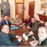 Επίσκεψη γνωριμίας στο Δήμαρχο Εορδαίας Σάββα Ζαμανίδη πραγματοποίησε η νέα διοίκηση του ΕΒΕ Κοζάνης