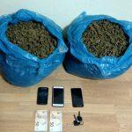 Συνελήφθησαν 3 άτομα σε περιοχή της Καστοριάς για διακίνηση ακατέργαστης κάνναβης, βάρους -10- κιλών και -820- γραμμάριων (Φωτογραφίες)